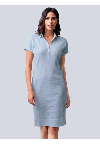 Alba Moda Jerseykleid, in sportiver Seersucker-Qualität kaufen