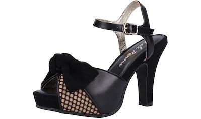 Lola Ramona High - Heel - Sandalette »Veloursleder/Mesh« kaufen