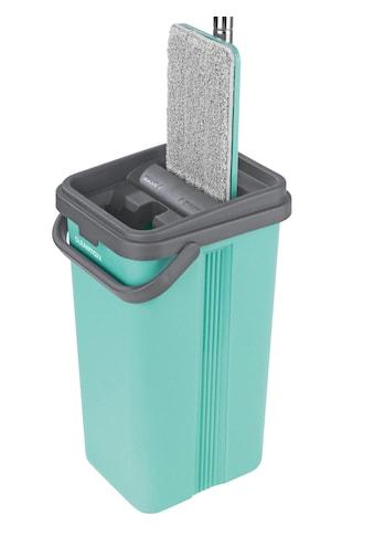 Wischmopp mit 2 - Kammer - System im Eimer kaufen