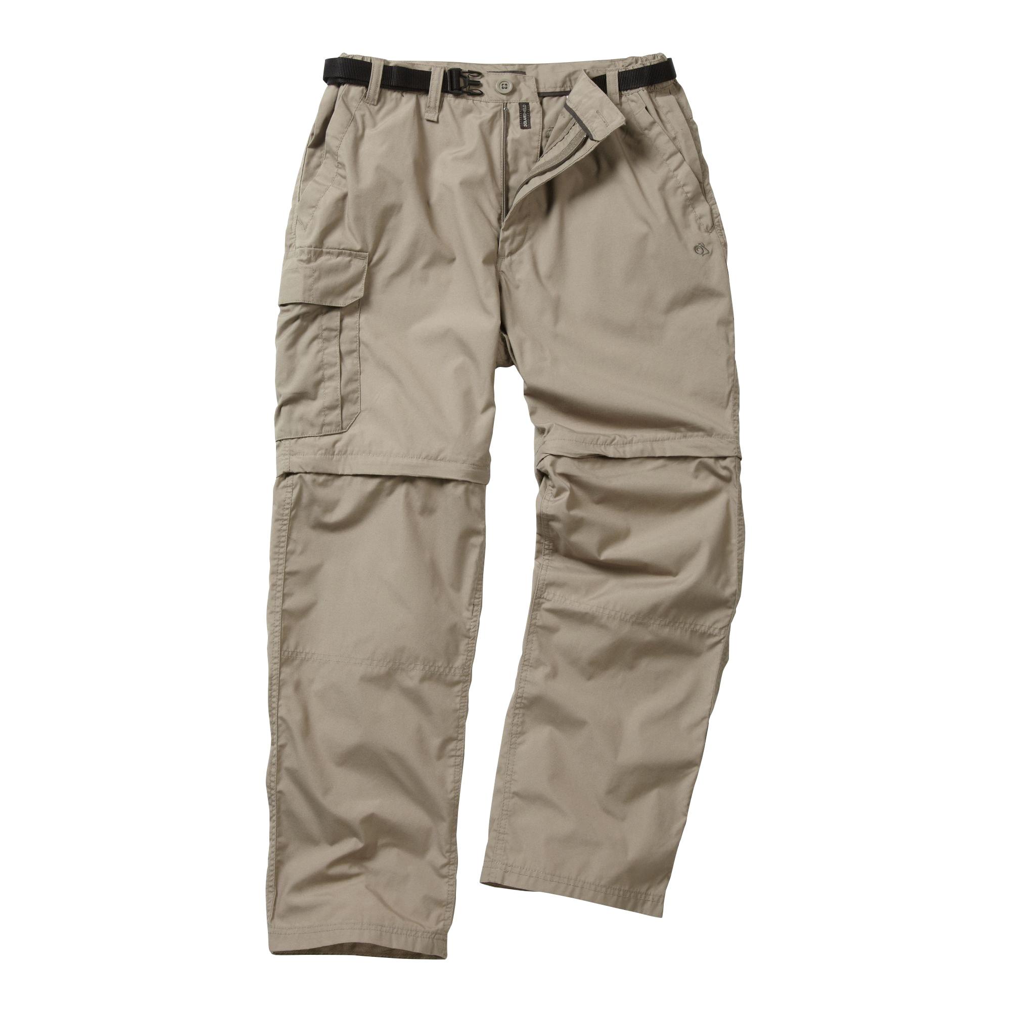 Craghoppers Zip-off-Hose Kiwi Klassische Herren Hose | Bekleidung > Hosen > Sonstige Hosen | Grau | Craghoppers
