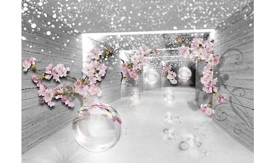Consalnet Vliestapete »3D Magischer Tunnel«, verschiedene Motivgrößen, für das Büro oder Wohnzimmer kaufen