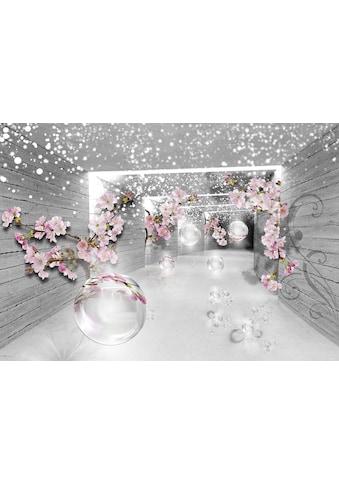 Consalnet Vliestapete »3D Magischer Tunnel«, verschiedene Motivgrößen, blumen,... kaufen