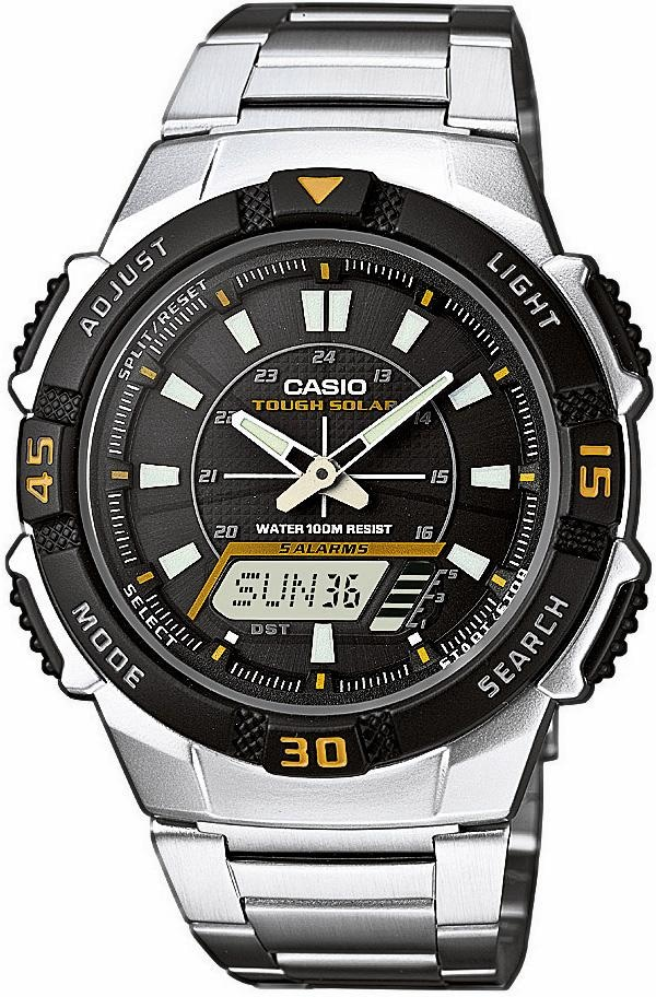 Casio Collection Chronograph AQ-S800WD-1EVEF | Uhren > Chronographen | Casio Collection