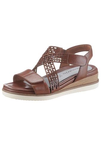 Tamaris Sandale »Pure Relax«, mit zwei Klettverschlüssen kaufen