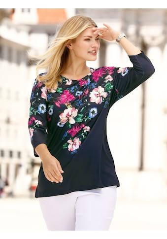 m. collection Print-Shirt, mit Blumendruckmuster kaufen