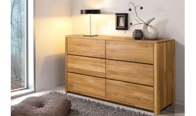 andas Kommode »Scandi«, aus schönem massivem Eichenholz, mit einer praktischen Soft-Close-Funktion kaufen