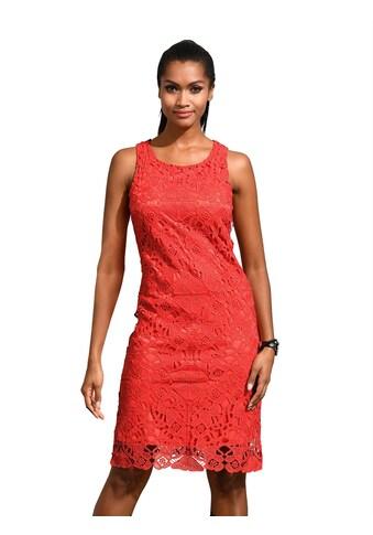 Alba Moda Etui - Kleid mit Spitze allover kaufen