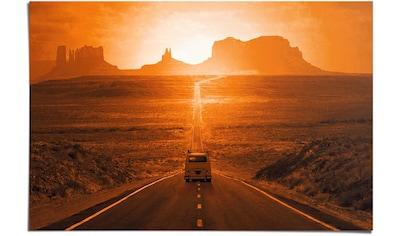 Reinders! Poster »Monument Valley«, (1 St.) kaufen
