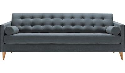LOVI 3-Sitzer »Powder«, Füße aus Eiche massiv in skandinavischem Design kaufen