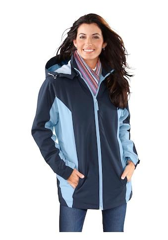 Classic Basics Jacke aus wind -  und wasserabweisender Microfaser kaufen