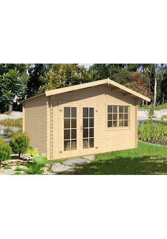 OUTDOOR LIFE PRODUCTS Gartenhaus »Montana 2«, BxT: 435x370 cm, inkl. Fußboden kaufen