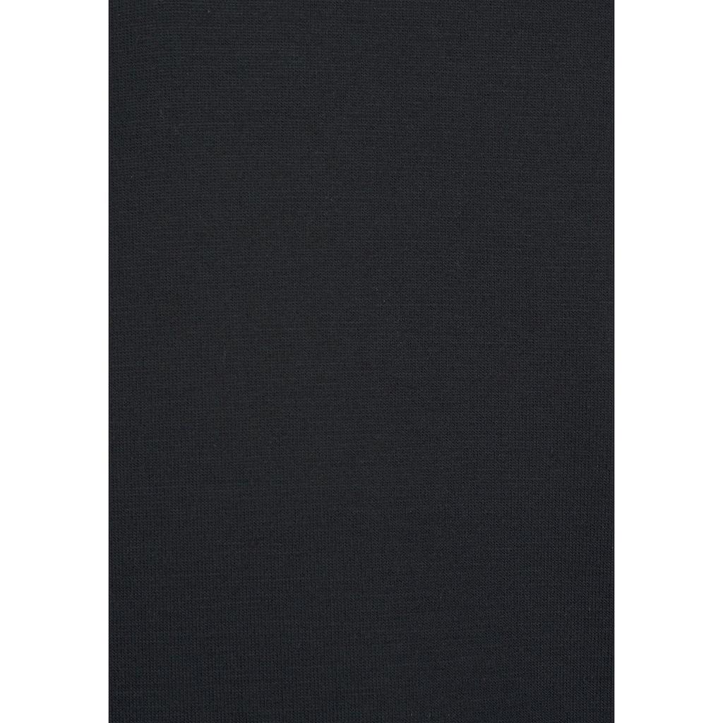 LASCANA Playsuit, mit Spitzensaum