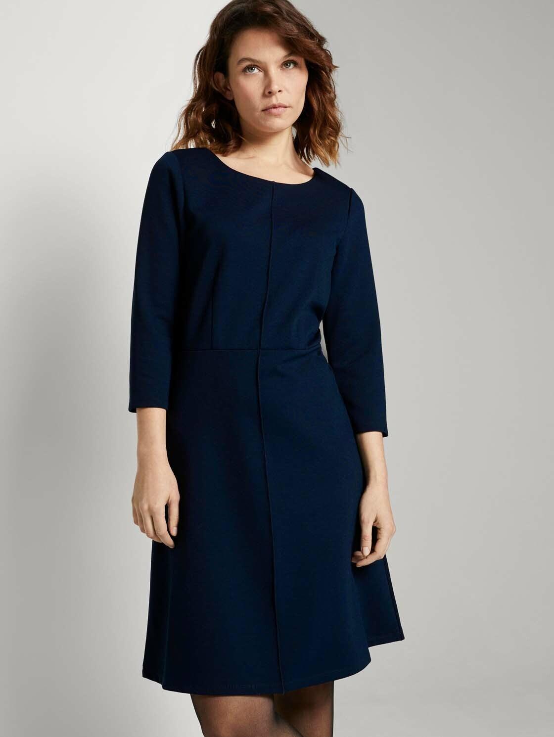 tom tailor -  A-Linien-Kleid Jerseykleid in A-Linie