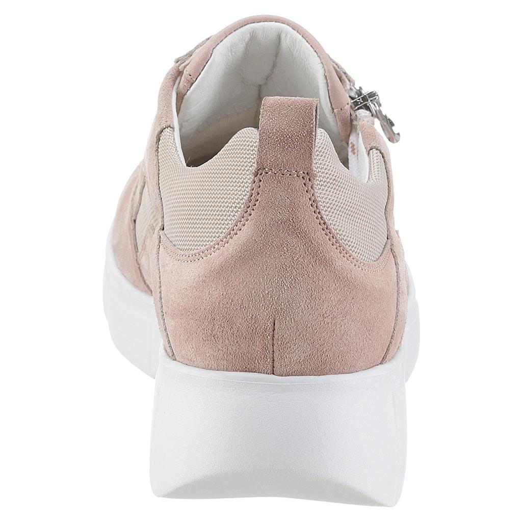Waldläufer Keilsneaker »H-Lou«, mit herausnehmbarer Lederinnensohle, H-Weite