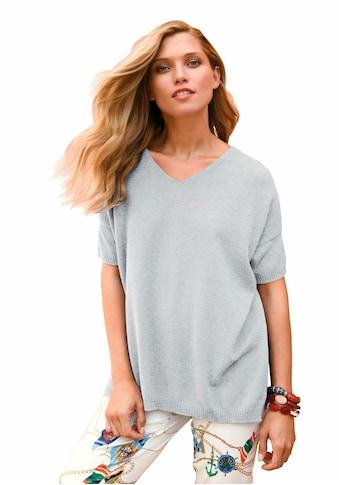 include Kurzarmpullover »V - Pullover aus 100% Premium - Kaschmir« kaufen