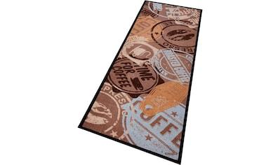 Küchenläufer, »Coffee Stamp«, Zala Living, rechteckig, Höhe 5 mm, maschinell gewebt kaufen