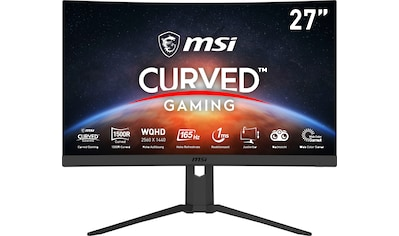 MSI »G27CQ4PDE« Curved - Gaming - Monitor (27 Zoll, 2560 x 1440 Pixel, QHD, 1 ms Reaktionszeit, 165 Hz) kaufen