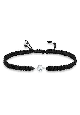 Elli Armband »Solitär Knoten Kristalle 925 Silber« kaufen