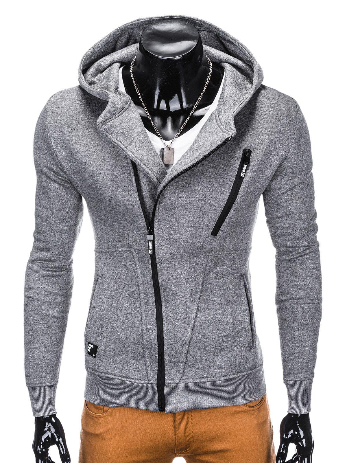OMBRE Kapuzensweatjacke | Bekleidung > Sweatshirts & -jacken | Grau | Jeans | Ombre
