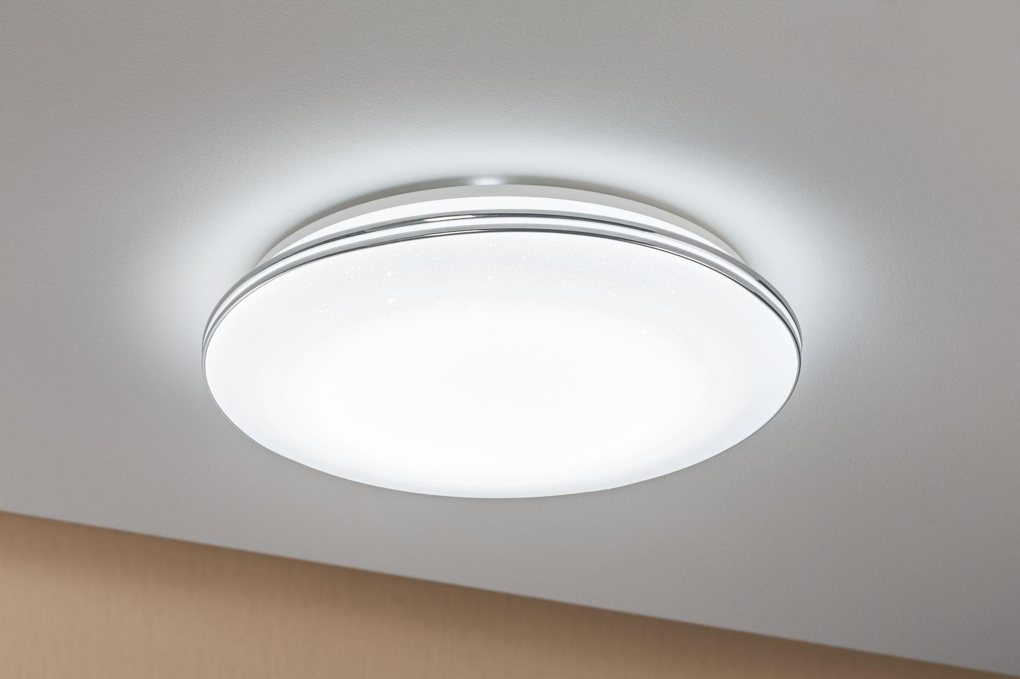 Paulmann LED Deckenleuchte Sternenhimmel Costella rund 22W Weiß Sternenhimmel, 1 St., Tageslichtweiß