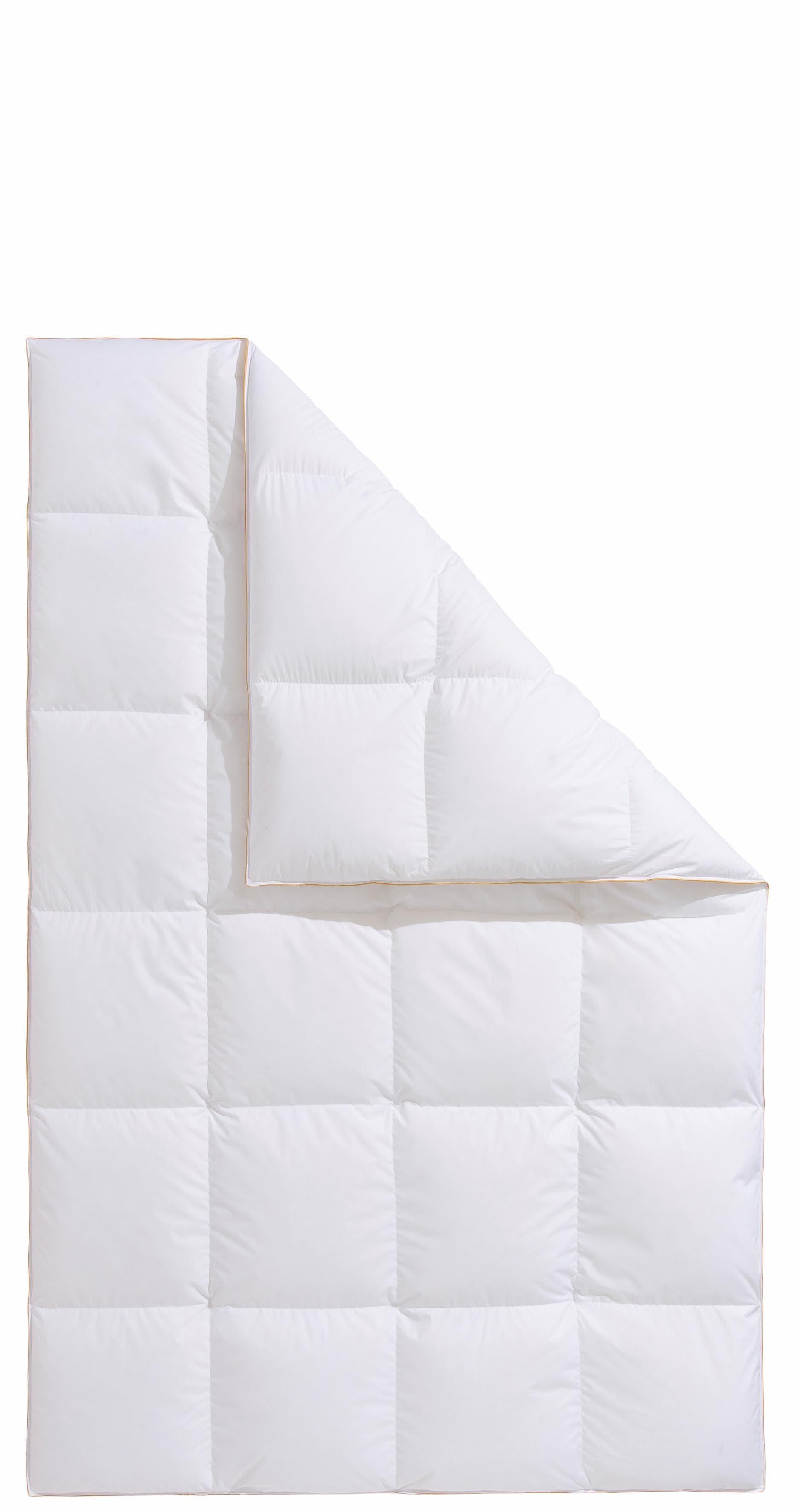 Daunenbettdecke Frau Holle Frau Holle warm Füllung: 100% Daunen Bezug: 100% Baumwolle