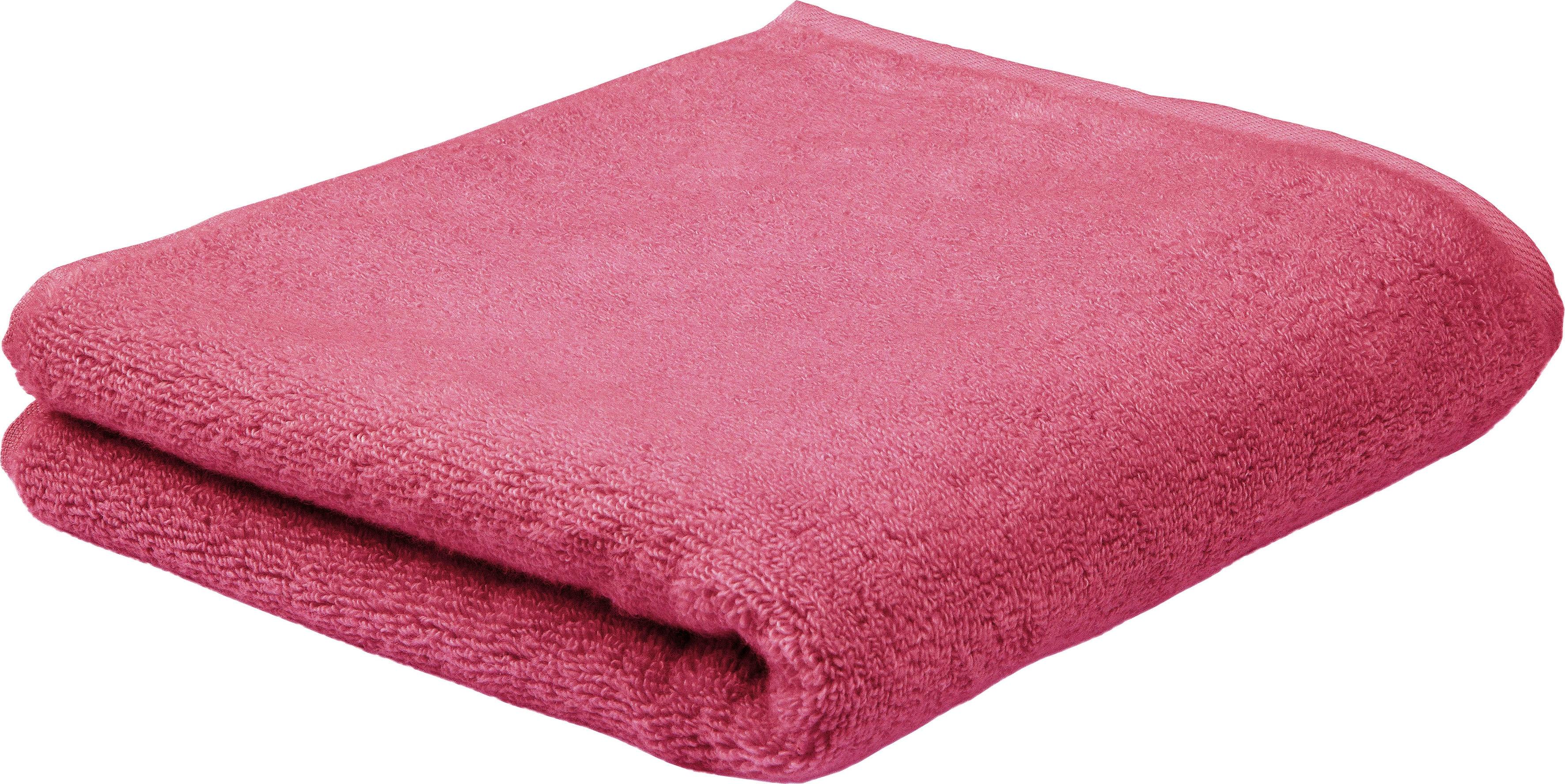 ROSS Handtuch Sensual Skin, (2 St.), mit Aloe Vera veredelt rot Handtücher Badetücher