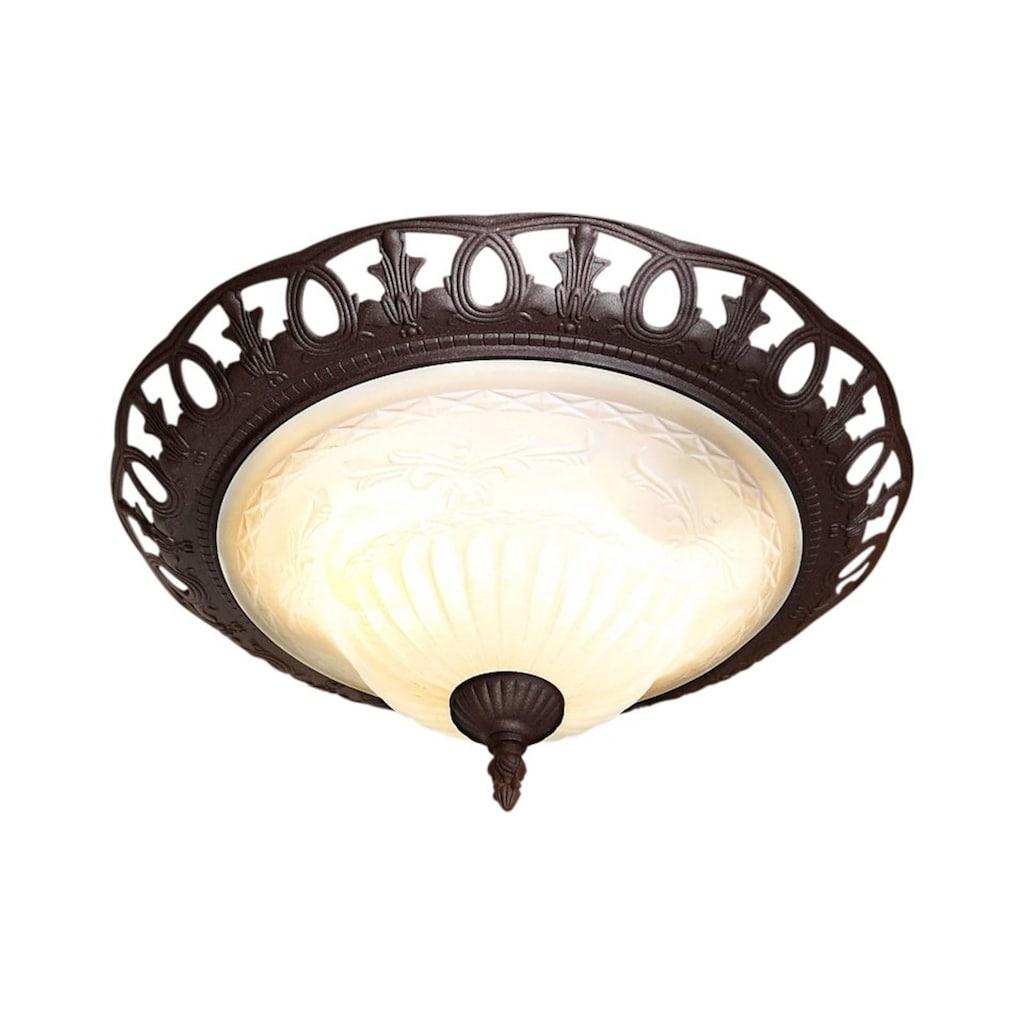 TRIO Leuchten Deckenleuchte »Rustica«, E27, Deckenlampe, Leuchtmittel tauschbar