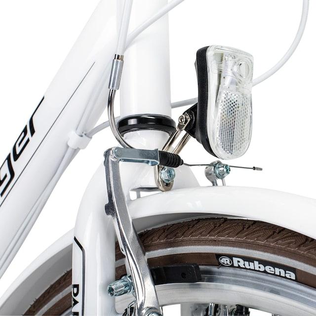 bergsteiger Cityrad »Paris«, 6 Gang Shimano Tourney RD-TZ50 Schaltwerk