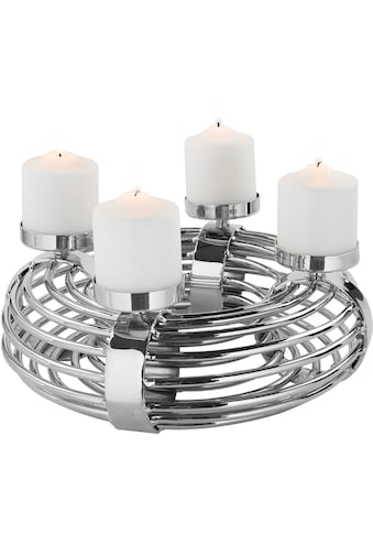Fink Kerzenleuchter »VENTURA«, 4-flammig, Adventsleuchter kaufen