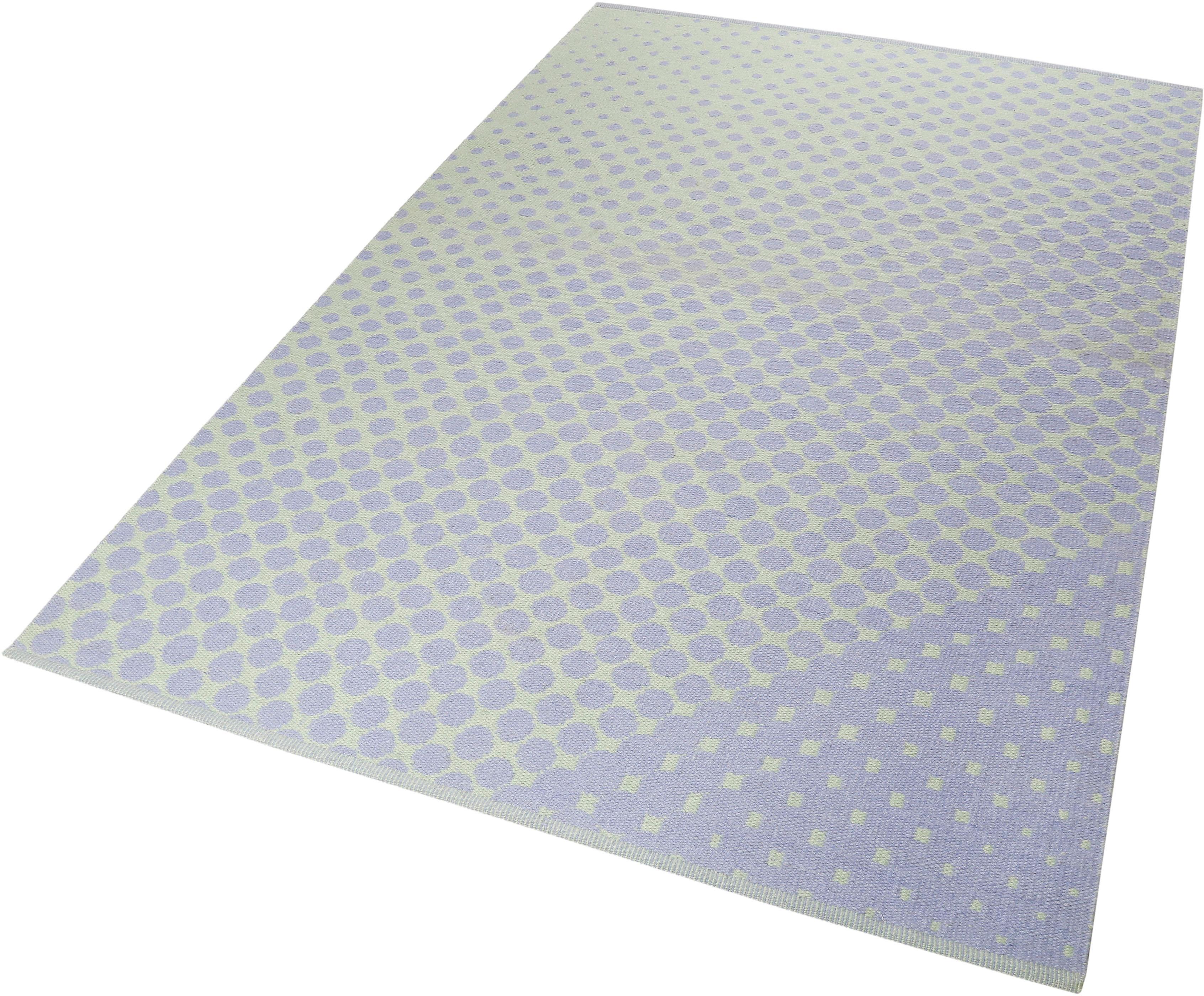 Teppich VEL Kelim Esprit rechteckig Höhe 4 mm handgewebt