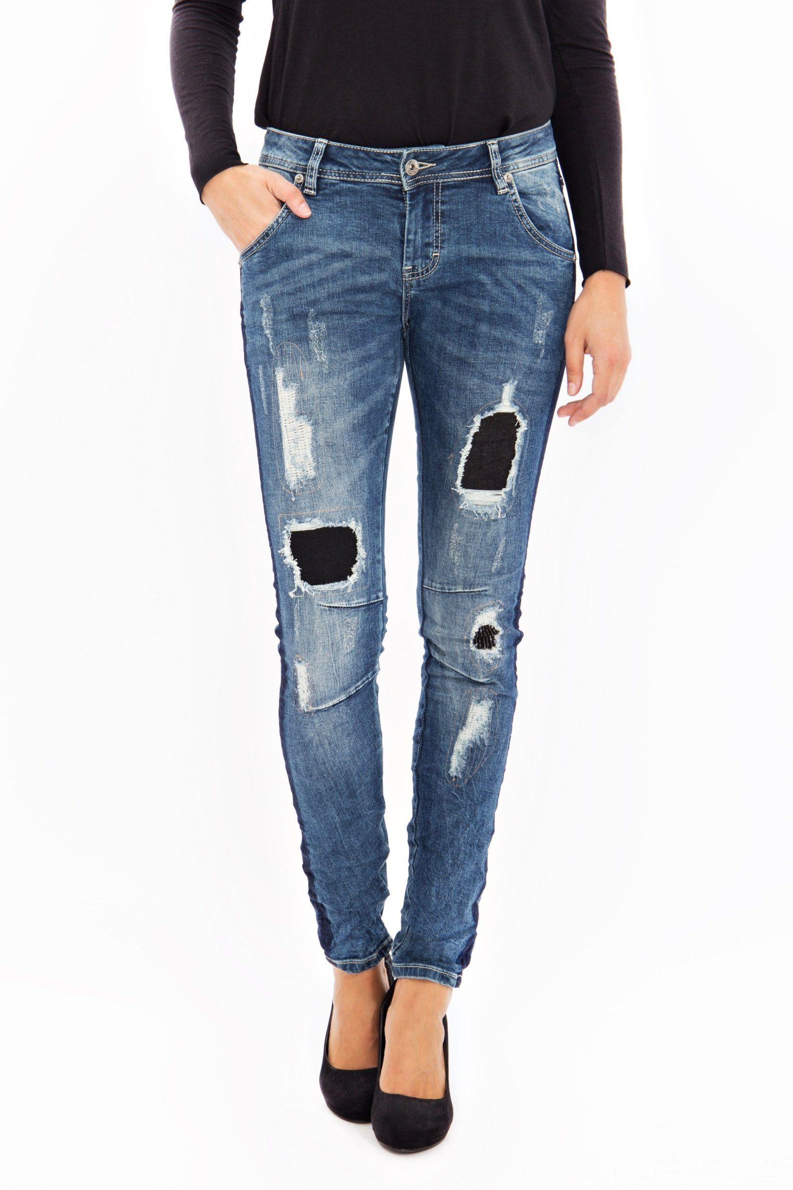 Blue Monkey Skinny-fit-Jeans Tina 1523 | 04251254996069