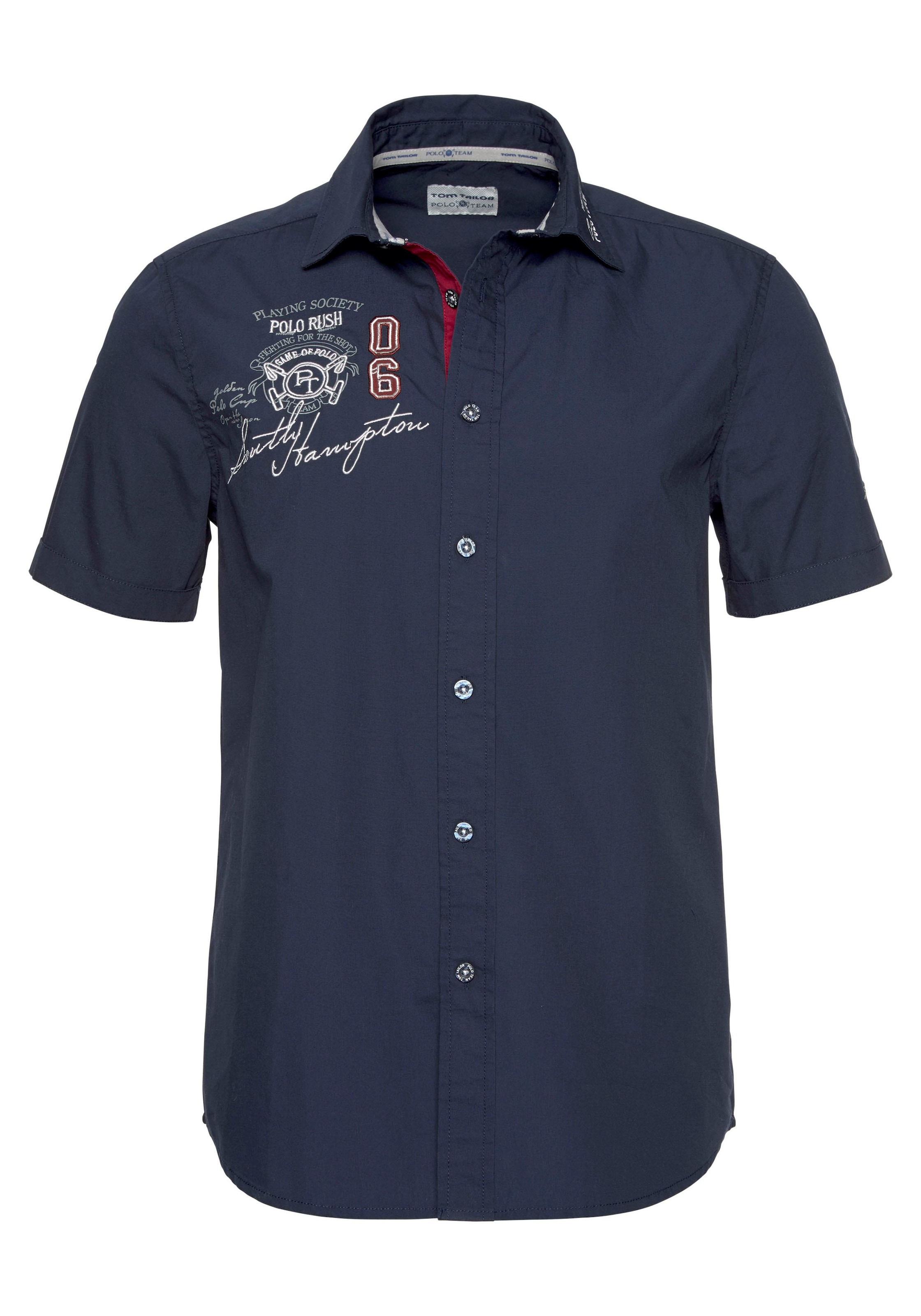 TOM TAILOR Polo Team Kurzarmhemd kaufen » BAUR