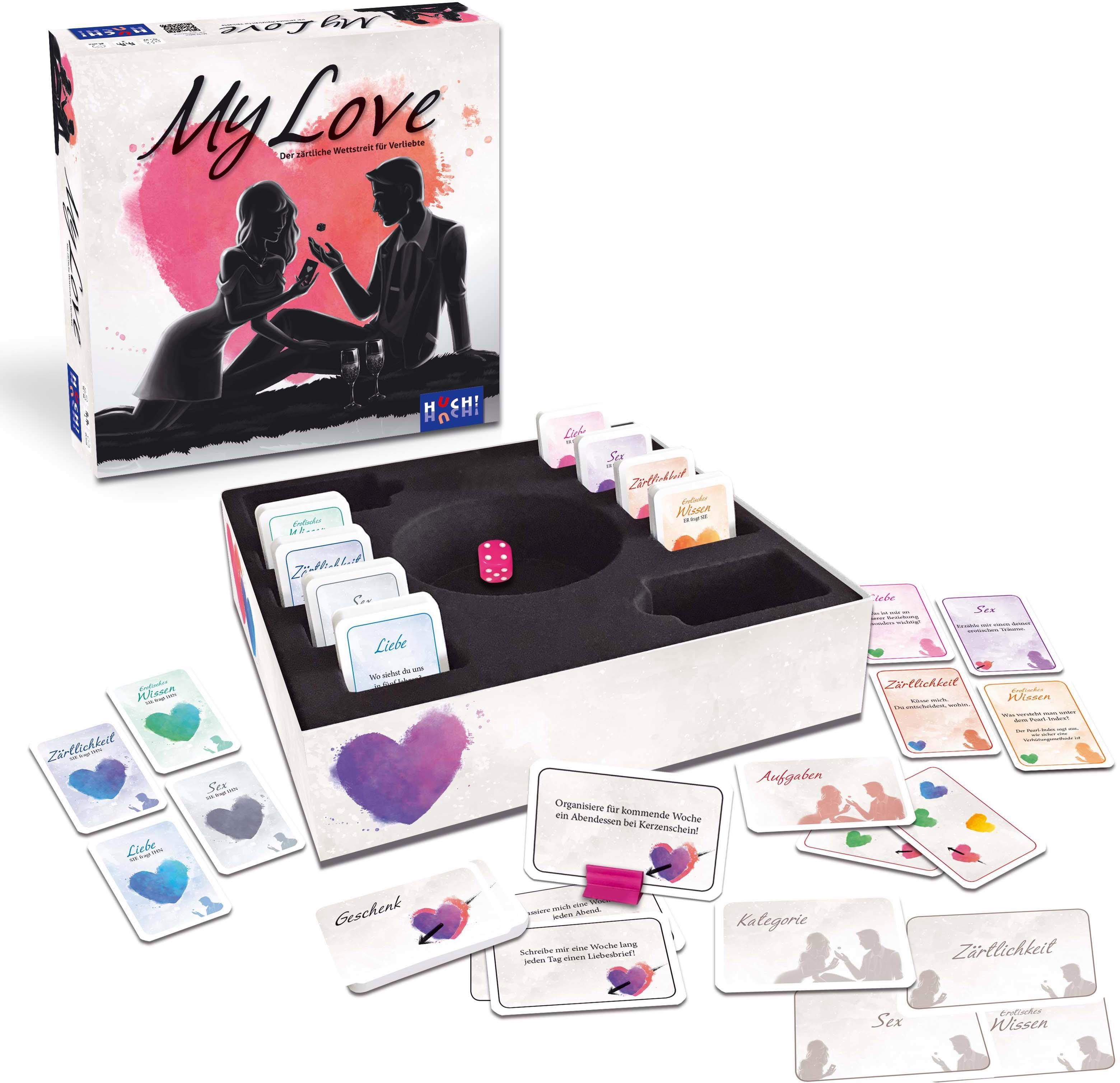 Huch! Huch Spiel My Love bunt Kinder Brettspiele Gesellschaftsspiele