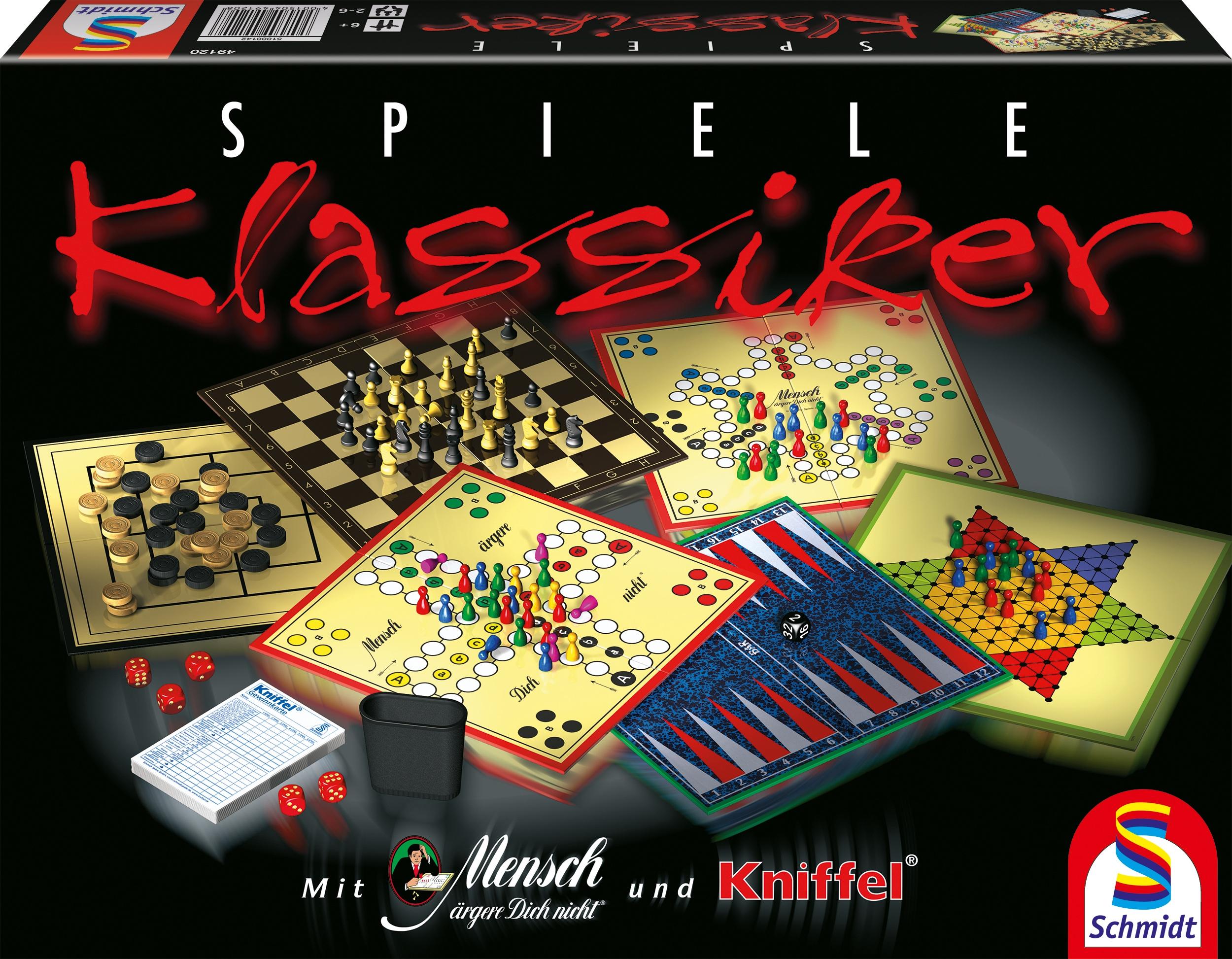 """Schmidt Spiele Spielesammlung """"Klassiker Spielesammlung"""""""