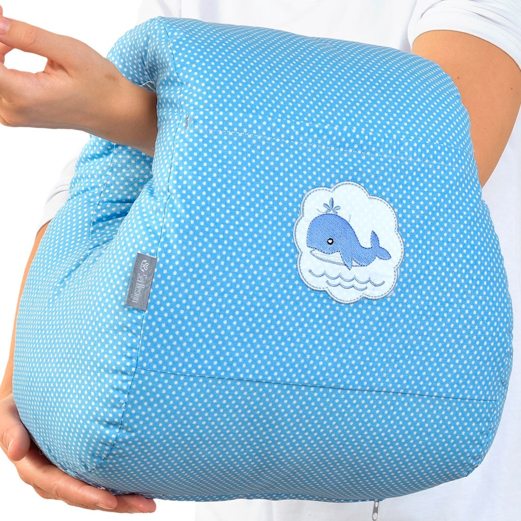SEI Design Stillkissen »Blau Wal«