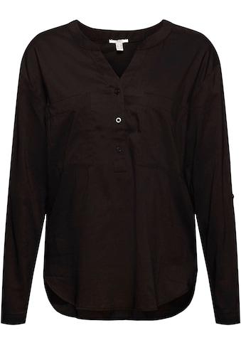 edc by Esprit Schlupfbluse, mit großen aufgesetzten Brusttaschen kaufen