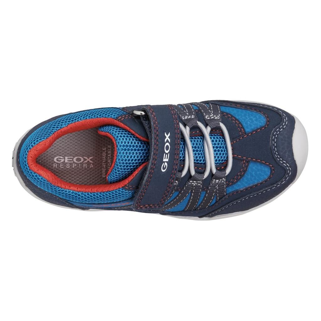 Geox Kids Sneaker »TAWIS BOY«, mit gepolstertem Schaftrand