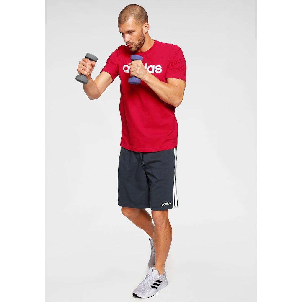 adidas Performance Trainingsshorts »ESSENTIALS 3-STREIFEN FRENCH TERRY«