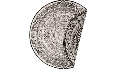 bougari Teppich »Siruma«, rund, 5 mm Höhe, Wendeteppich, In- und Outdoor geeignet, Wohnzimmer kaufen
