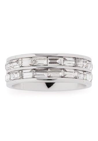 LEONARDO Fingerring »Lia, 016954, 016955, 016957«, mit Kristallsteinen kaufen