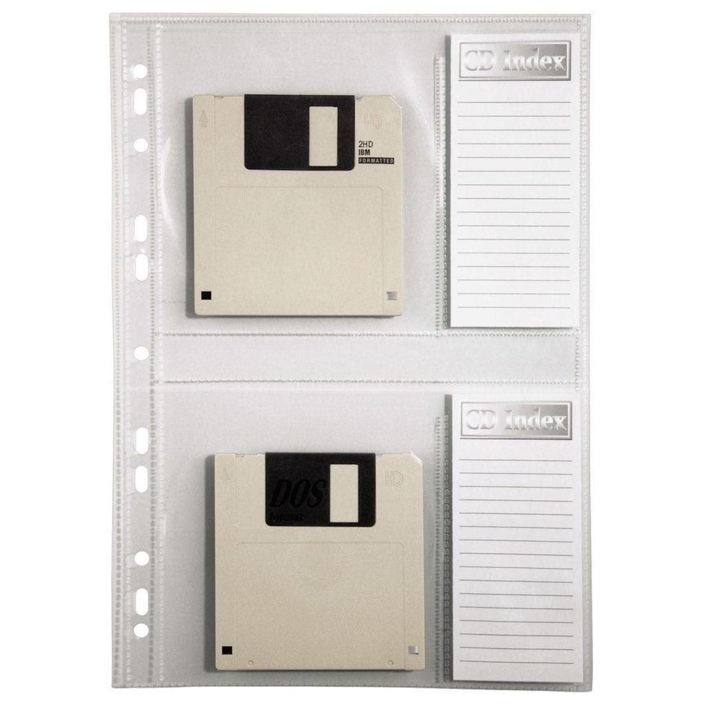 Hama CD-Ordnerhüllen, DIN A4