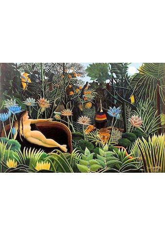 my home Leinwandbild »H. ROUSSEAU, Der Traum«, (1 St.) kaufen