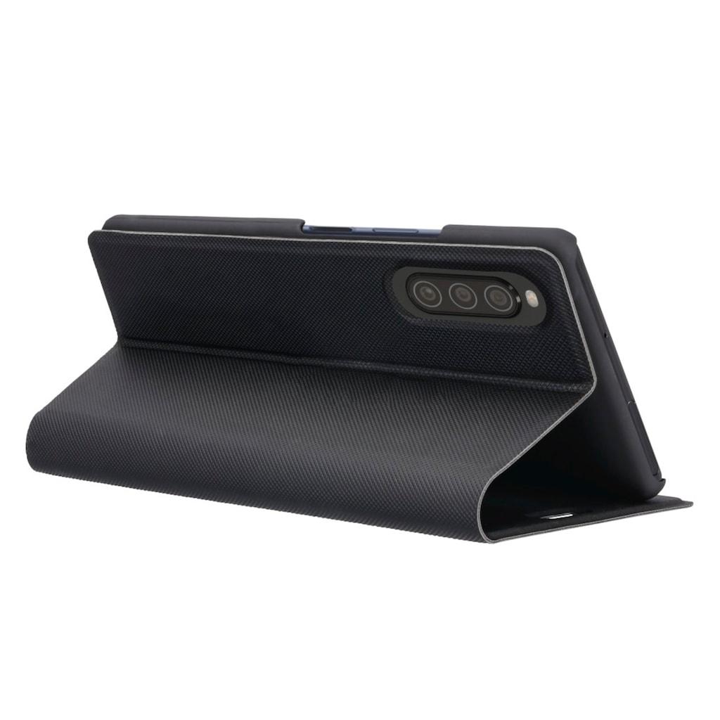 Hama Booklet Slim Pro für Sony Xperia 10 II, Schwarz