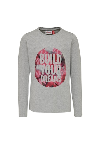 """LEGO® Wear Langarmshirt »LWTONE 201«, mit einen Druck in Kreisform """"build your Dreams"""" kaufen"""