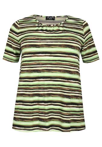 VIA APPIA DUE Fröhliches T-Shirt mit Ringel-Muster kaufen