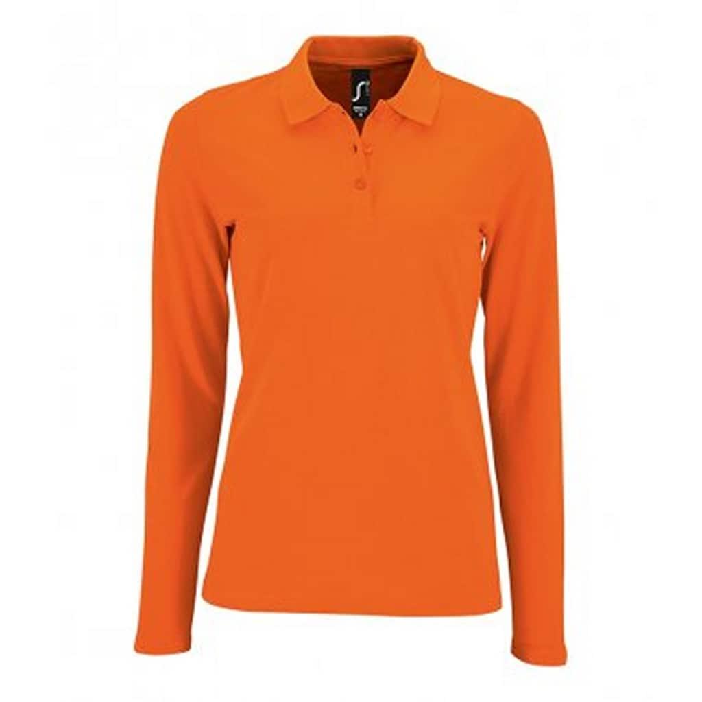 SOLS Poloshirt »Damen Pique-Polo-Shirt, langärmlig«