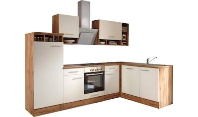 RESPEKTA Winkelküche »Lübeck«, mit E-Geräten, Stellbreite 280 x 172 cm kaufen