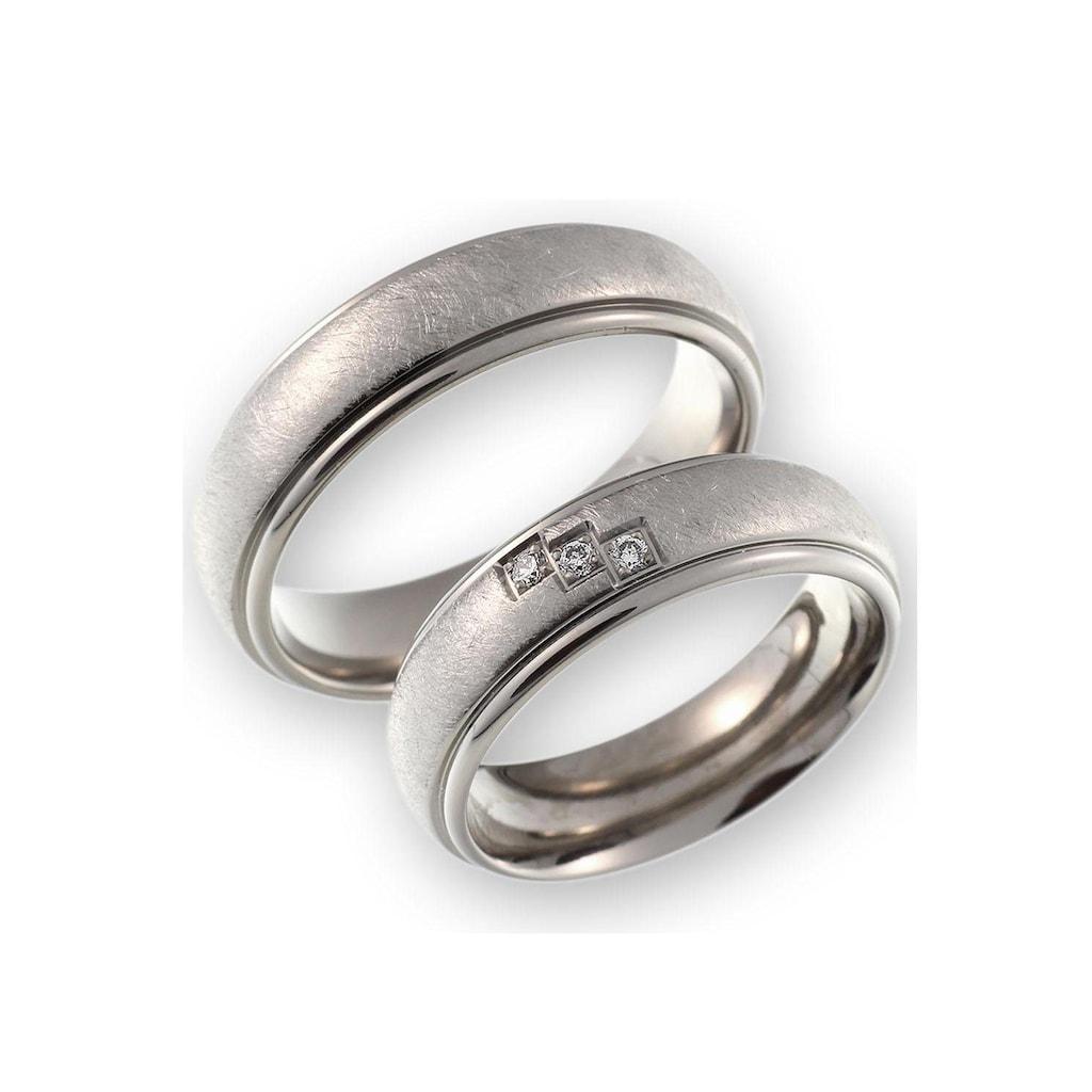 CORE by Schumann Design Trauring »20006178-DR, 20006178-HR, ST050.09«, Made in Germany - wahlweise mit oder ohne Diamanten