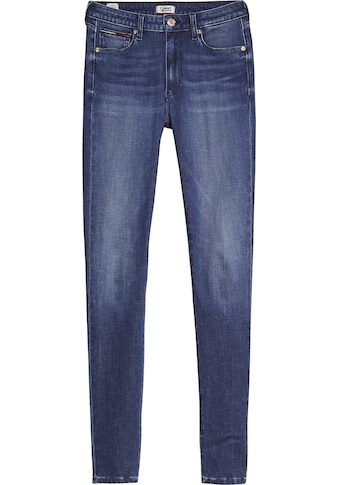 TOMMY JEANS Skinny - fit - Jeans »SYLVIA HR SUPER SKINNY DYAMD« kaufen