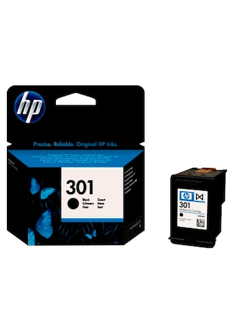 HP Tintenpatrone »HP NR.301, Doppelpack, original, CH561EE, SCHWARZ« kaufen